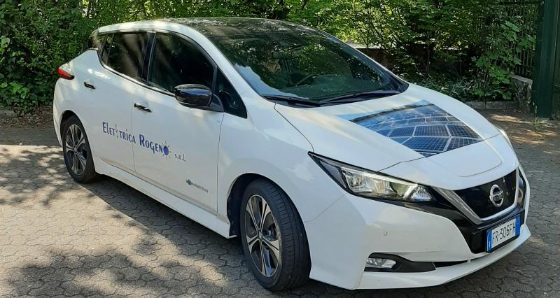 nissan leaf auto elettrica mobilità sostenibile elettrica rogeno