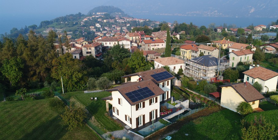 installazione impianto fotovoltaico Sunpower bellagio