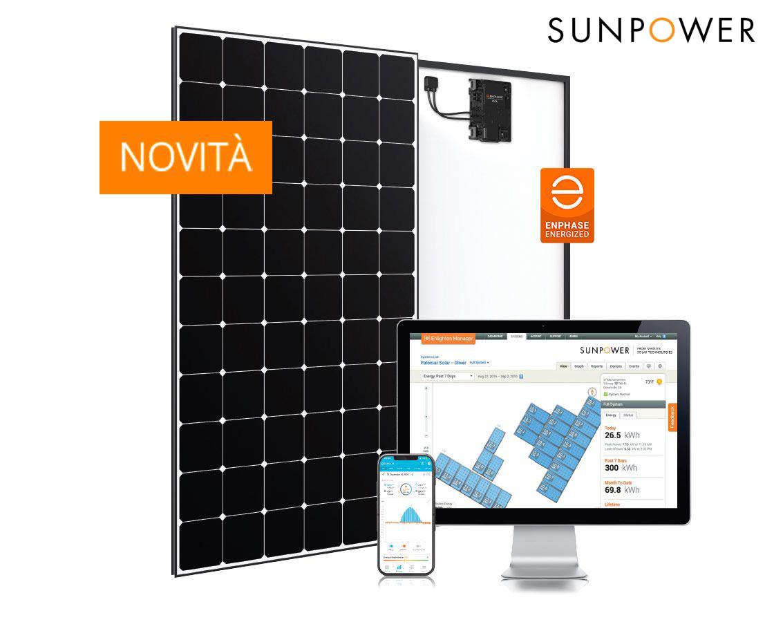 Il nuovo pannello fotovoltaico SunPower Maxeon 5 AC