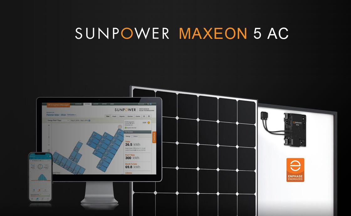 Il nuovo pannello fotovoltaico SunPower Maxeon 5 AC: potente, affidabile e duraturo
