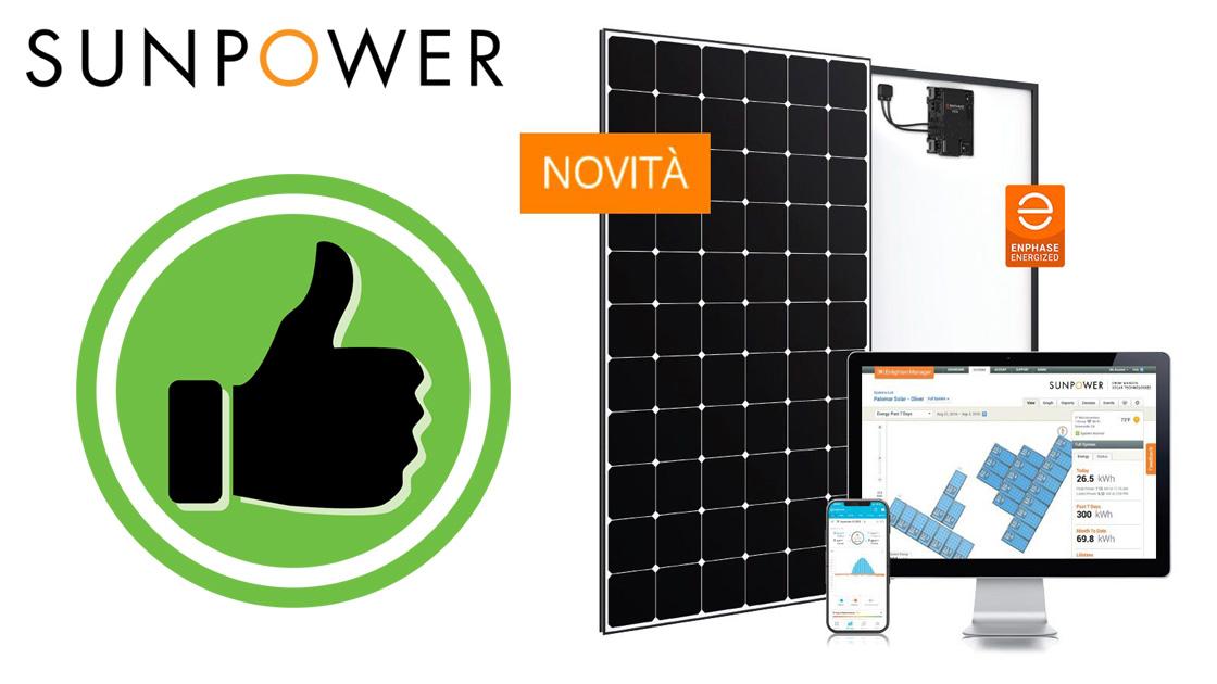 Il pannello più efficiente? SunPower Maxeon 5 AC
