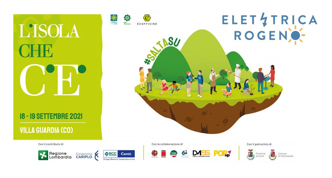 Elettrica Rogeno partecipa a L'isola che c'è 2021