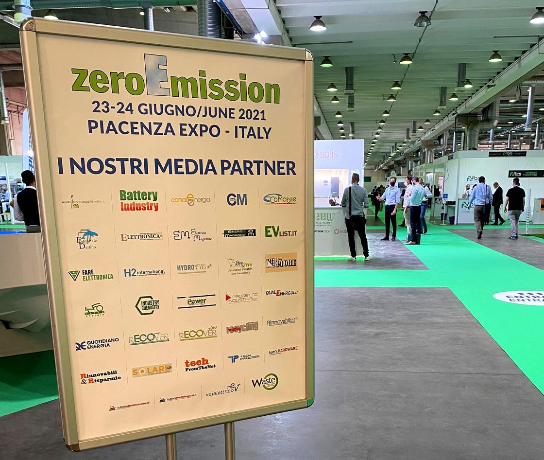 Media partner della fiera ZeroEmission 2021